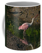 Hungry Pink Spoonbill Coffee Mug
