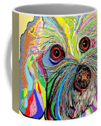Hunter The Bichon . . . He's A Shoe Man Coffee Mug