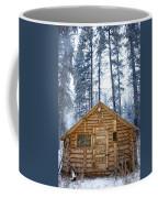 Hunting Cabin In Alberta Coffee Mug