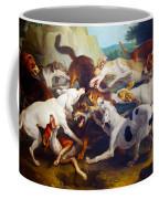 Hunting Dogs Detail Coffee Mug