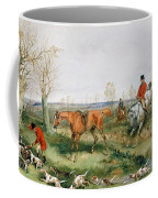 Hunting Scene Coffee Mug