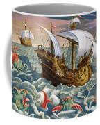 Hunting Sea Creatures Coffee Mug