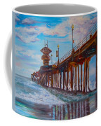 Huntington Beach Pier 2 Coffee Mug