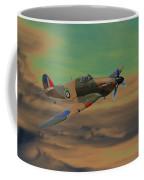 Hurricane Fighter Plane 2 Coffee Mug