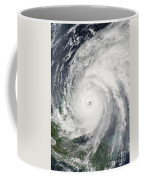 Hurricane Wilma  Coffee Mug by Planet Observer