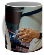 Hurst Shifter And Hand Brake Coffee Mug