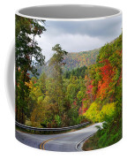 Hwy 281 In The Fall  Coffee Mug