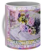 Hydrangea Anemones Coffee Mug