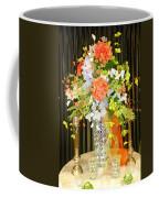 Hydrangea Centerpiece Artistic Coffee Mug