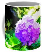 Hydrangea In Watercolor Coffee Mug