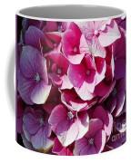 Hydrangea Lavender Petals Coffee Mug