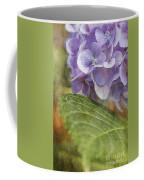 Hydrangea Portrait Coffee Mug