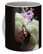 Hydrangeas Bouquet Coffee Mug