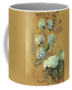 Hydrangeas Coffee Mug by Paul Cesar Helleu