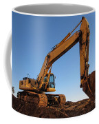 Hydraulic Excavator Coffee Mug