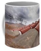 Hydroelectric Plant In Renewable Energy Concept Coffee Mug