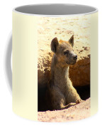 Hyena In Den Coffee Mug