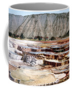 Hymen Terrace Yellowstone National Park Coffee Mug