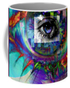 I Abstract Coffee Mug by Elizabeth McTaggart