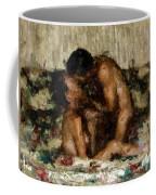 I Adore You Coffee Mug by Kurt Van Wagner
