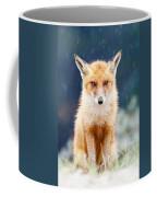 I Can't Stand The Rain  Fox In A Rain Shower Coffee Mug
