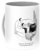 I Guess It's Time To Start Caring About Zombies Coffee Mug