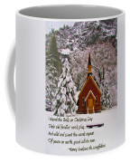 I Heard The Bells Coffee Mug
