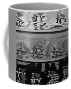 I Heart Ny In Black And White Coffee Mug