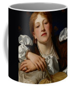 I Know A Maiden Fair To See Coffee Mug by Charles Edward Perugini