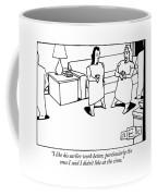 I Like His Earlier Work Better Coffee Mug
