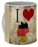 I Love Germany Coffee Mug