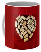 I Love Red Wine - Vertical Coffee Mug