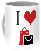 I Love Shopping Coffee Mug