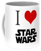 I Love Star Wars Coffee Mug