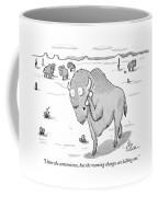 I Love The Convenience Coffee Mug