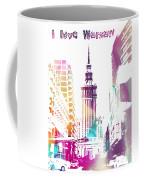 I Love Warsaw Coffee Mug