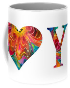 I Love You 17 - Heart Hearts Romantic Art Coffee Mug
