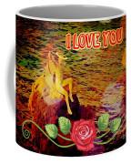 I Love You Card Coffee Mug