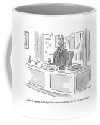 I May Be A Jackal-headed God Of The Underworld Coffee Mug