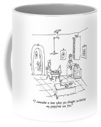 I Remember A Time When You Thought Sectioning Coffee Mug