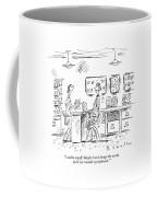 I Said To Myself Coffee Mug