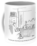 I See From Your Resume That You Enjoy Attending Coffee Mug