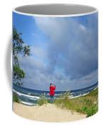 I See The Sea. Juodkrante. Lithuania Coffee Mug