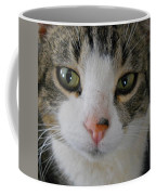 I See You Cat - Square Coffee Mug