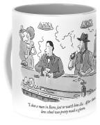 I Shot A Man In Reno Coffee Mug