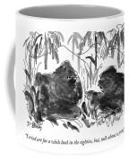 I Tried Art For A While Back In The Eighties Coffee Mug