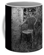 I Used To Sit Here Coffee Mug by Luke Moore