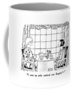 I Want My Ashes Scattered Over Bergdorf's Coffee Mug by Victoria Roberts