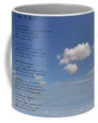 I Want To Believe Coffee Mug by Bill Cannon