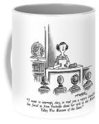 I Want To Interrupt Coffee Mug